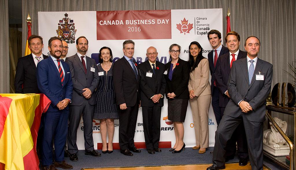 Miembros de la Junta Directiva en el Canadá Business Day 2016